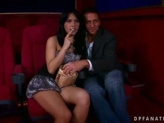 Amabella γαμήσι two guys σε ο σινεμά