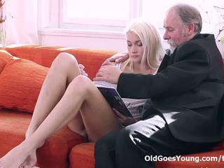 mladý, orgasmus, rimming