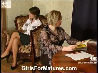 lesbian sex, matures, mature porn