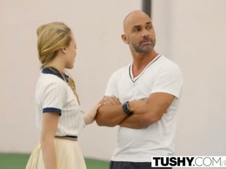 TUSHY First Anal For Tennis Student Au...