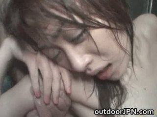Akari hoshino японська назовні жорсткий
