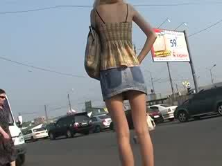 Nice acquaintance with başlangyç up skirts