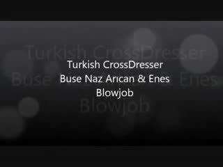 Tyrkisk buse naz arican & gokhan - suging og knulling