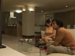 Sleaze Ai Kanazaki Has Her Huge Breasts Eaten After A Dinner