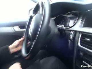 Carol goldnerova מכונית לשטוף striptease, הגדרה גבוהה פורנו fe