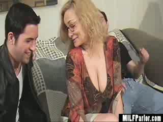 Sexy MILF Coaches Cock