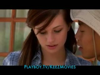 Cute teen brunette sleeps with her camp counselor