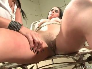 Mandy Bright punishing cute girl