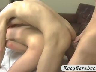 Y-ung gay bareback sex