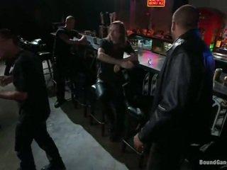 Melody jordan has gangbanged в на ездачки бар