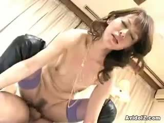 briunetė, blowjob, threesome