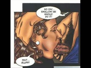 Hardcore seksueel erotisch fetisj comics