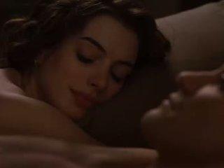 Anne hathaway sexe scènes à partir de amour et autre