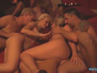 gruppen-sex, swinger, blowjob