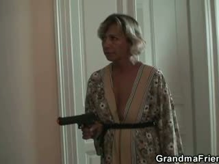 늙은, 할머니, 할머니