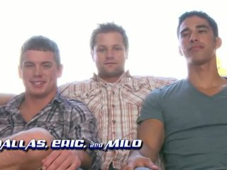Eric Pryor, Dallas Evans And Milo Sommers