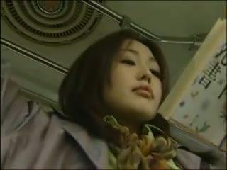 japanisch, lesbisch, bus