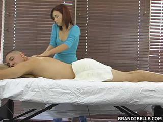 Brandi belle gives หนึ่ง sensuous ทวารหนัก hole ช่วยตัวเอง งาน ดีที่สุด ที่ ที่ จุด