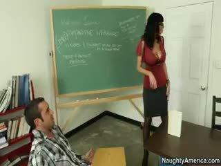 brunette, big boobs, nylon