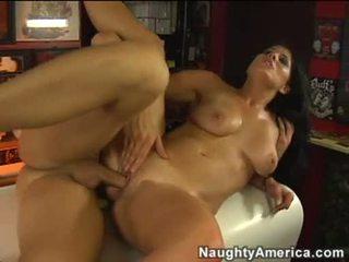 Hawt πορνό μωρό erin marxxx aawaiting ένα load του σπέρμα blasting.