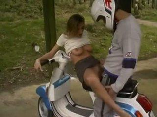 กลางแจ้ง, สาม, motorbike