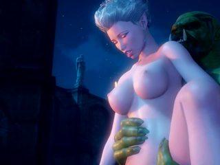 Monsters: fria tecknad & monsters porr video- a0