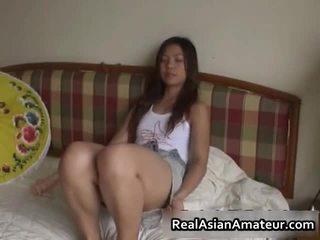أقرن الآسيوية جنس لعبة سخيف مشهد