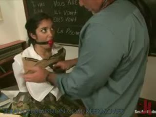 Sexy Schoolgirl Learns New Lesson