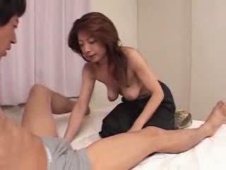 Giapponese matura è affamato per sesso video