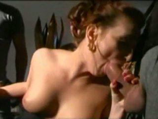 Redhead Italian Babe with 2 Guys DP, Free Porn 30