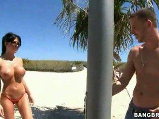 brunette, huge tits, beautiful tits, 30, 69, big tits