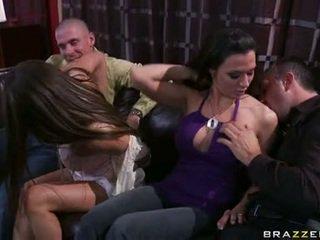 Rachel roxx ja rachel starr pelissä kanssa tipu lads