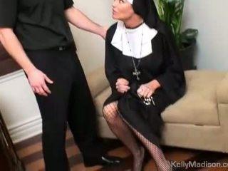 Kelly madison potrestané s a thick vták v pička