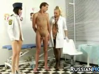 Russian Femdoms In A Threesome