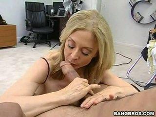 Sensuous MomMa Nina Hartley Sits Onto ...