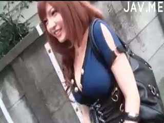 si rambut cokelat, japanese, cumshot