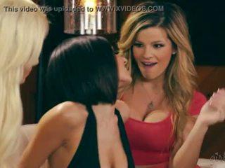 Adriana sephora, elsa jean a darcie dolce lesbička zábava