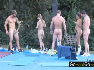 group sex, big boobs rated, doggystyle