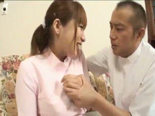 Myuu hasegawapretty ázsiai guminő gets teased