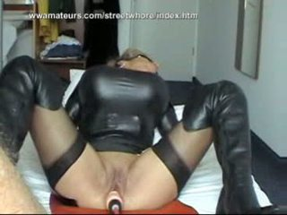 Austrian streetwhore gets fucked by a ...