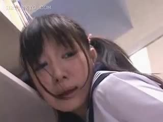 brunette, japanese, amatør