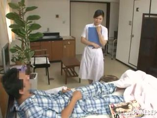 Refined thai perawat has fucked by a patient