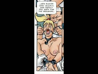 Blonde Tricked into BDSM Sex Comic