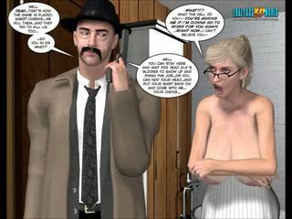 desenhos animados, 3d comics