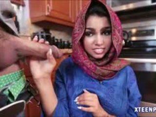 Arab hottie ada gets її манда filled з warm cumload