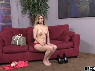 Hot Blonde Alana Luv Takes a BBC Fuck, Porn 26