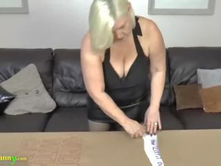Oldnanny Lacey Star Bought New Lesbian Sex Doll