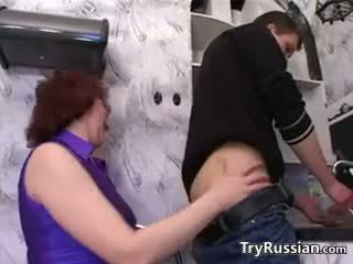 Ρωσικό μητέρα wants ένα νέος καβλί
