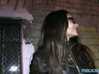 PublicAgent Russian babe gets fucked for cash