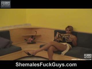 Eduarda guimaraes transsun ja pussyboy päällä video-